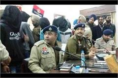 sangrur murder robbery gang arrest