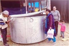 11 quintal khichdi will be made in this vessel on makar sankranti
