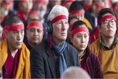 dharamshala dalai lama teaching hollywood actor richard ger