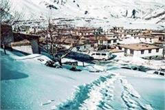 havoc of snowfall in pin valley