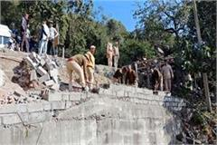 forest department action on illegal occupation