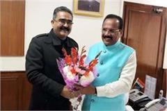 vikram singh thakur met from sadanand gowda in delhi