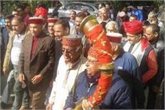 hamirpur jp nadda national president dhumal congratulations