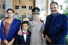 anchal sharma become lieutenant in indian army