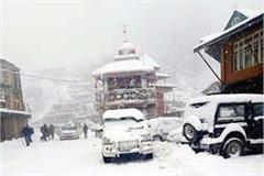 snowfall and rain in himachal