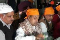 sambit patra bowed down in sri harimandir sahib