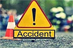 minister vijayalakshmi sadho s pilot vehicle overturned 4 injured