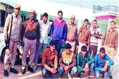 3 crooks of rajasthan police arrested many incidents exposed