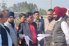 minister sundar sham arora raided the driving test track