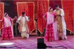 kailash vijayvargiya dances with wife at son s music festival