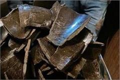 smuggler caught with 2 5 kg hashish