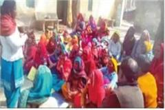 several departmental teams arrived in villages to give information