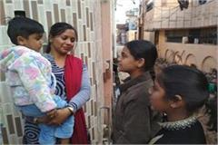 2 little sisters engaged in awareness for vaccination