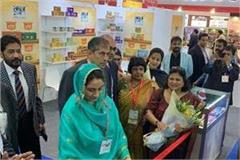 harsimrat badal inaugurates india pavilion at gal food 2020 dubai