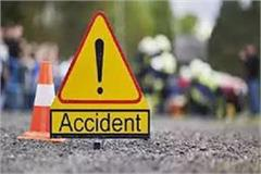 2 bikes entered under speeding truck in damoh 5 injured in accident