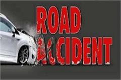 tragic accident high speed truck and car collision two people dead