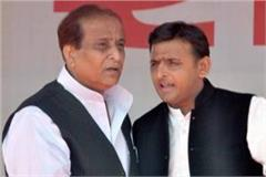 akhilesh yadav arrives in sitapur jail to meet azam khan