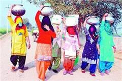 nidani own waterhouse thirsty women forced to carry water on their heads