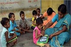 pan and paperless will be anganwadi workers government will soon