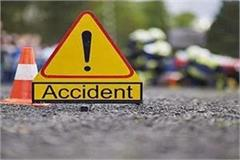 high speed bike collided with divider two died on the spot