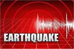 earthquake in himachal mild tremors felt in chamba