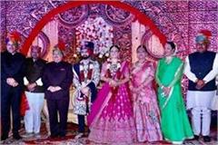 jp nadda s son girish tied for marriage with himachali customs
