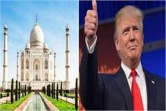 agra preparing to welcome president trump in full swing