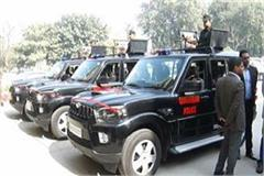 three scorpio police fleet equipped with state of the art included