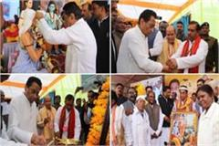 cm kamal nath arrives at shabri jayanti function in dindori