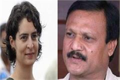 priyanka gandhi should be sent to rajya sabha from madhya pradesh