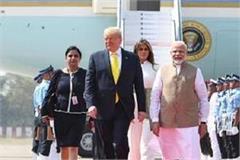 trump will not bow his head to see mumtaz s grave in taj mahal