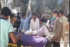 blast in basement on house in fatehabad