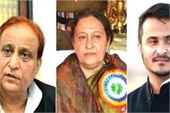 rampur attachment order against azam khan and his family