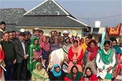 rana honored ex servicemen and their families in rangad