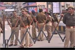 high alert in aligarh in view of incidents of violence in delhi