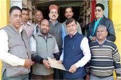 farmer conflict committee met from mla rajender rana