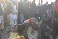 tarntaran explosion in nagar kirtan 2 people killed many injured