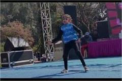 rose festival vani performed excellent dance