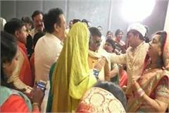 govinda arrives indore attend wed ceremony son bjp kailash vijayvargiya