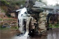 car accident in jawalamukhi