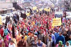 protest against airpot extension