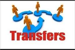 punjab government transfers 9 ias officers
