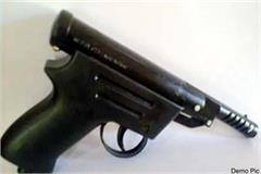 airgun recovered from car