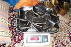 1 552 kg hashish recovered from israeli smuggler s hideout