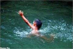 child drown in river