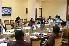 punjab chief secretary conferenced video with cabinet secretary