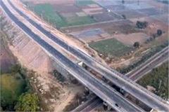 construction of delhi amritsar katra national express highway