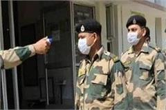bsf officer turned out to be corona positive at army training center