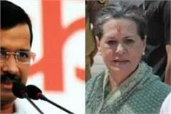 sonia gandhi rahul and priyanka fear of aap in punjab