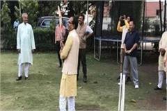 video shivraj hit fours in cricket